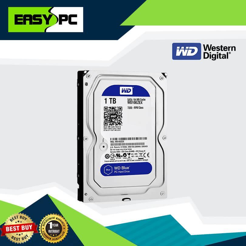 Western Digital Caviar Harddisk Drive 1tb Sata Blue, WD Caviar Hard disk  drive 1TB 7200 RPM 16MB Cache, Western digital WD10EZEX 3 5 inches, 1TB HDD