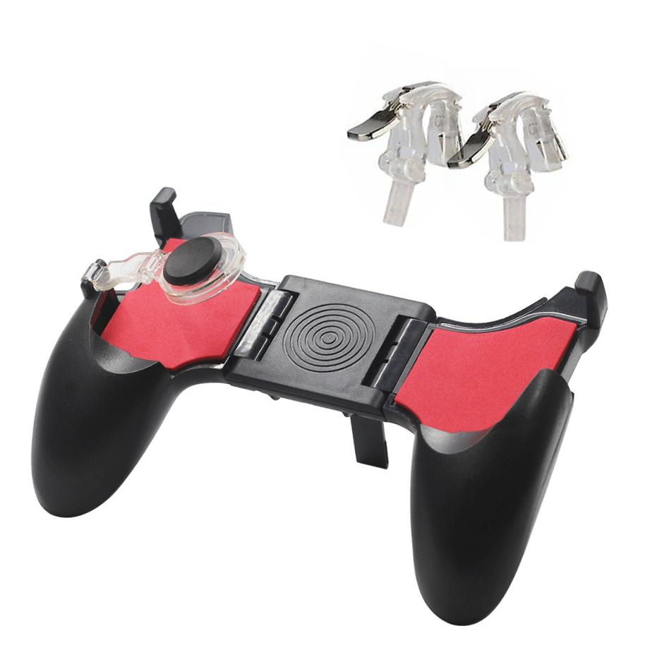 5 In 1 Mobile Phone Gamepad Joystick Controller L1 R1 Fire Shooter Buttons Trigger Handle For Pubg For Iphone Android By Enzo Philippines.