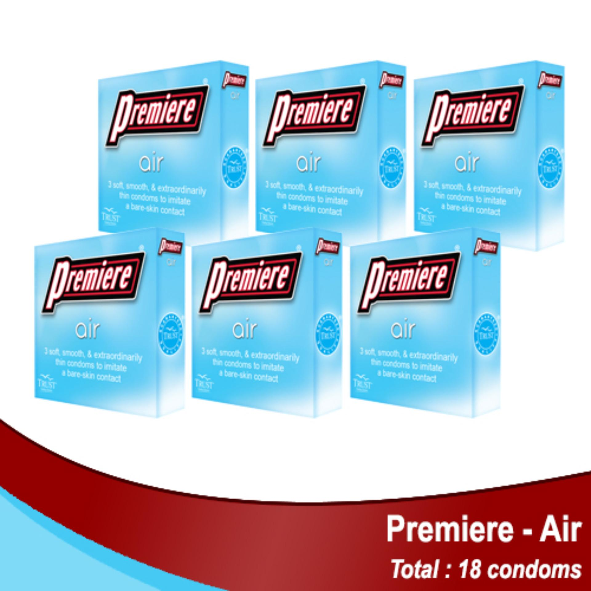 Air by 3's, Pack of 6