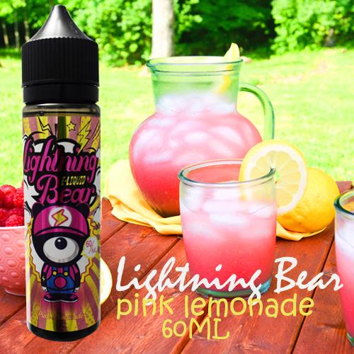Premium Smok 3MG E-Cigarette Kits Accessories E-Juice,Vape Juice,E-Liquid A23 Lightning Bear Pink Lemonade 60ml