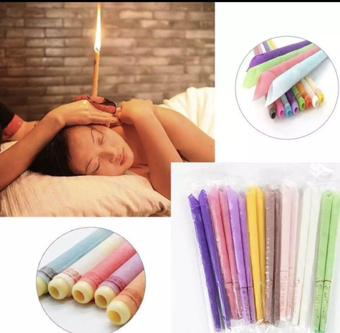 PHILIPPINES NO.1 (10pcs/5pair)Ear Candle Aromatherapy Therapy Medical Natural Beewax Ear image on snachetto.com