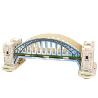3D Jigsaw Puzzle Building Series Wooden Children's Intelligence Education Toys Small Size Christmas Gifts Series 2 (Intl)