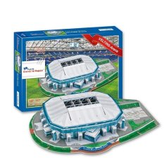 3D Puzzle Gelsenkirchen-Schalke 04 FC Football Club HomeVeltins-Arena Stadium Model For Kids