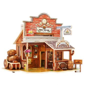 3D Three-Dimensional Jigsaw Puzzle Christmas Gifts Wooden Children's Intelligence Education Toys Series 1 (Intl)