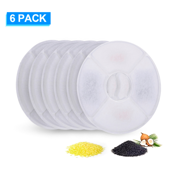 Cat Water Fountain Filters Replacement Filters for Cat Water Fountain Water Dispenser 8PCS