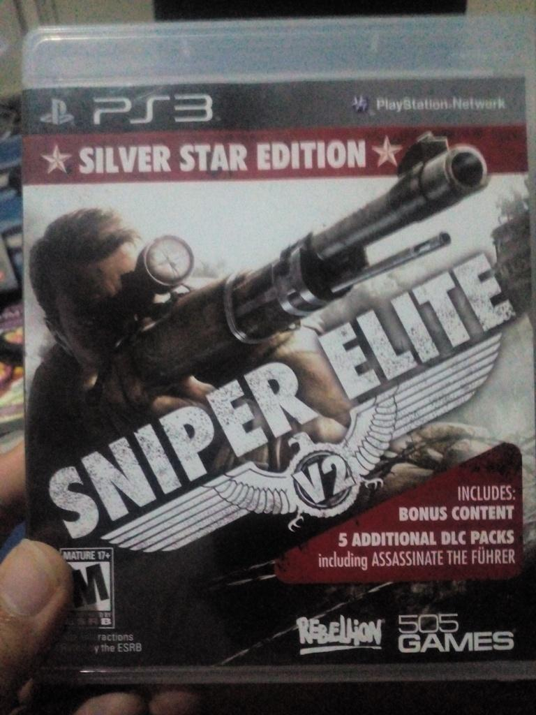 Sniper Elite (Silver Star Edition), PS3 Game, Mint Condition Tested