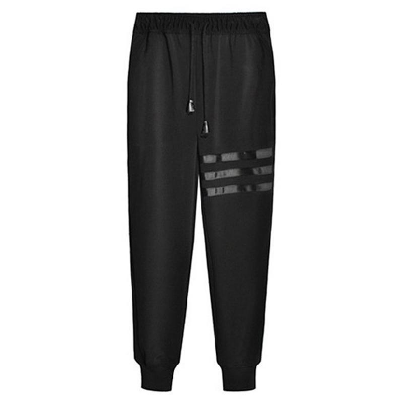 bfb99399488 Men Sports Gym Pants Slim Fit Trousers Casual Running Sweatpants Leggings  Long Pants