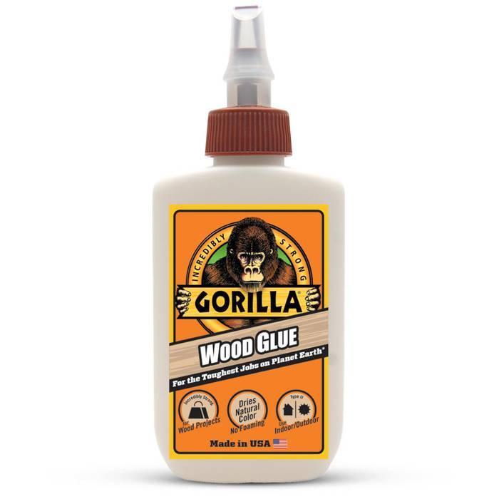 Gorilla Wood Glue 4oz By Borderland.
