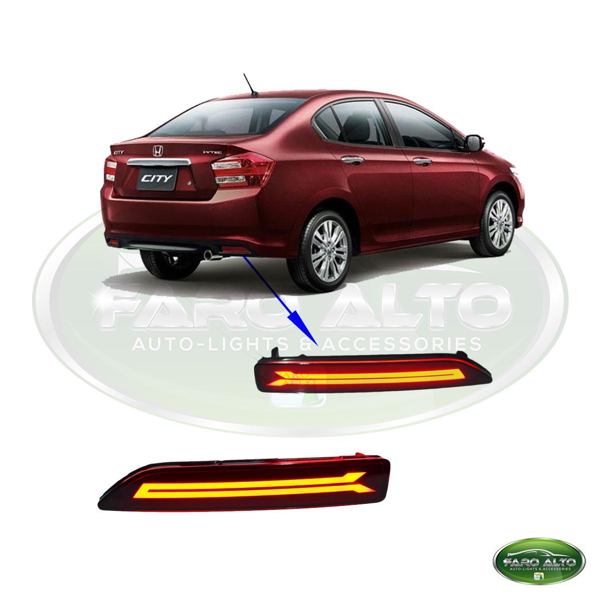 Honda City 2012 2013 2014 Rear Bumper Light By Faro Alto Auto-Lights & Accessories.