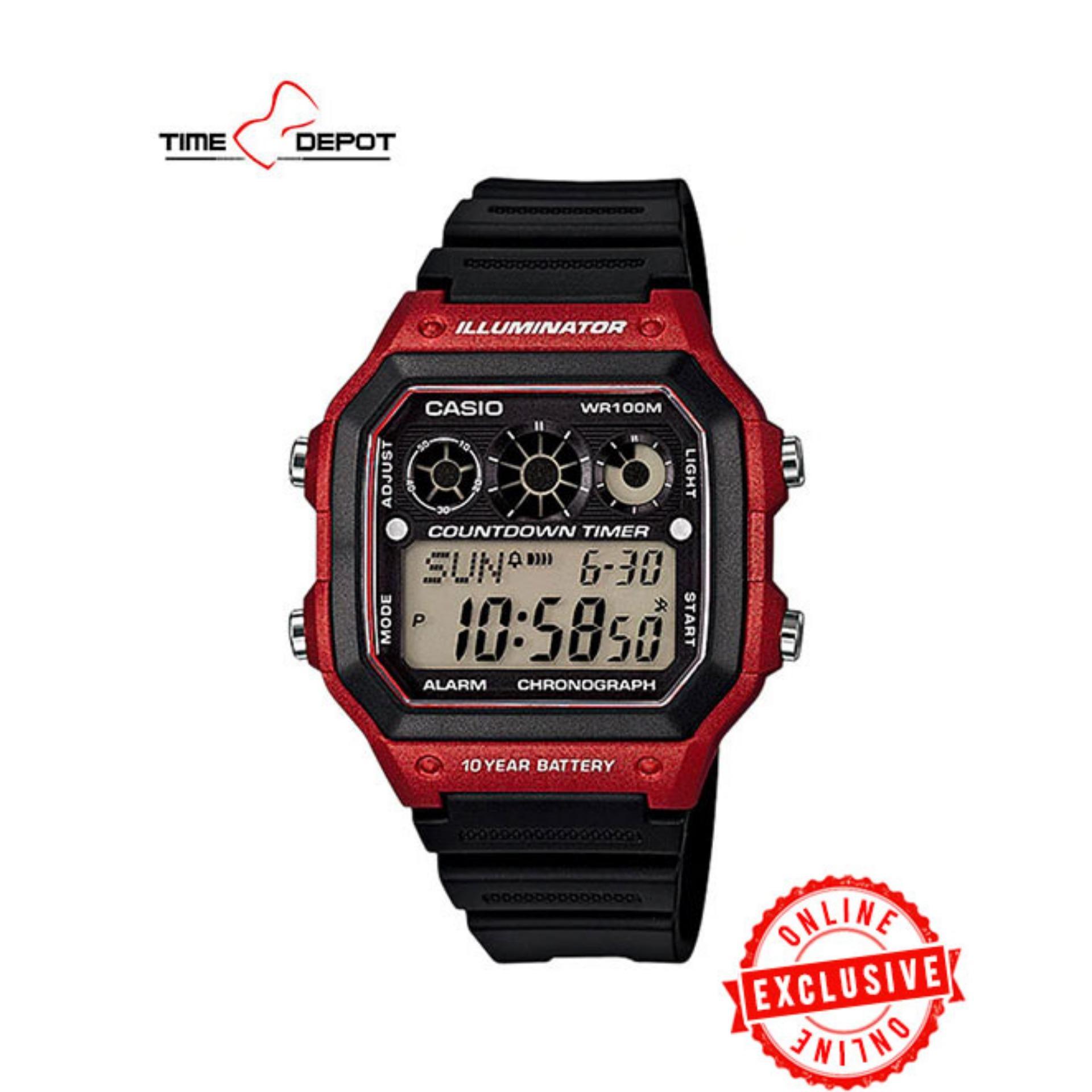 casio hd watch manual