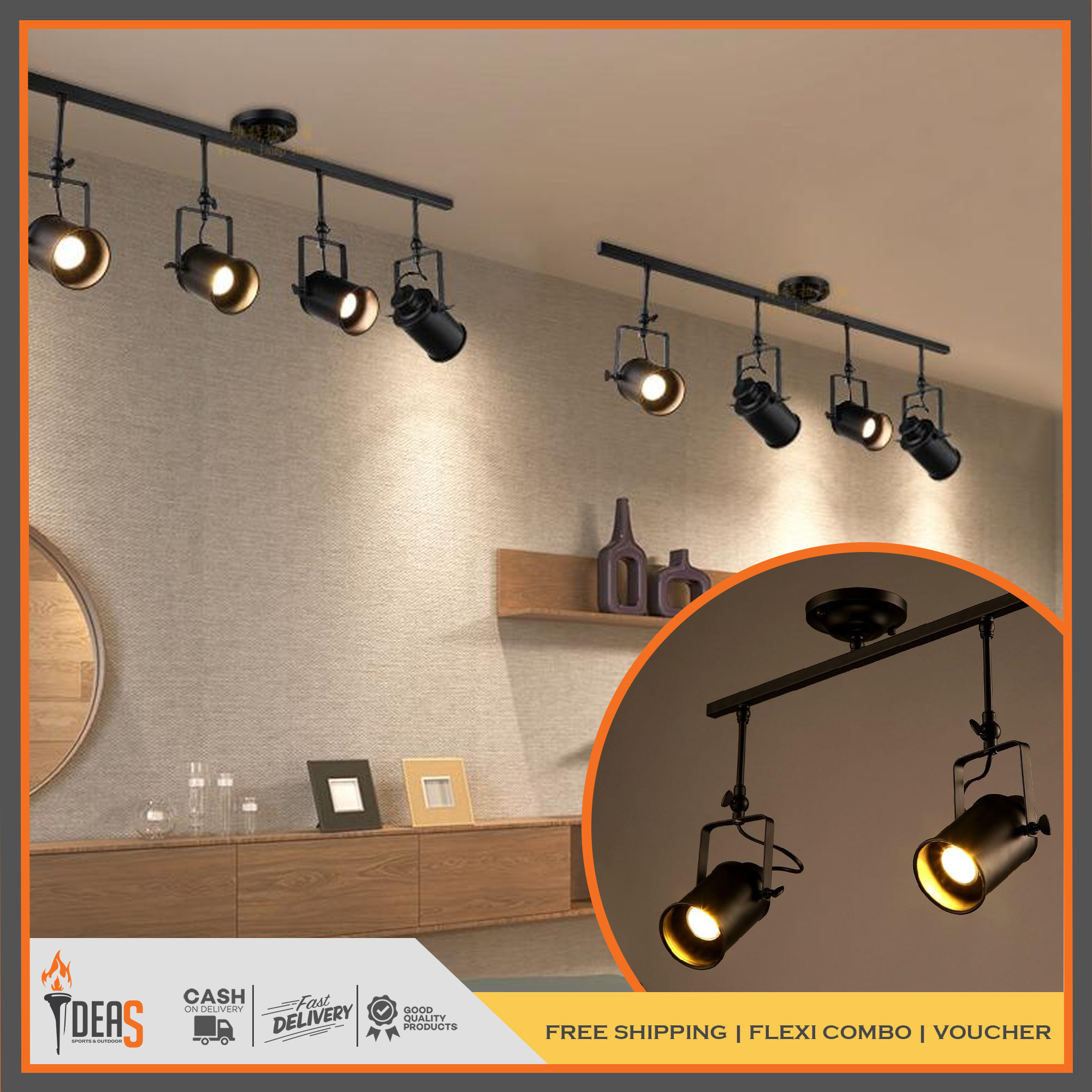 Ideas Ceiling Light Track Rail Lamp