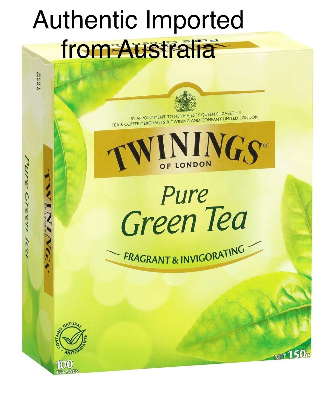 Twinings of London Pure Green Tea ( 100 tea bags )