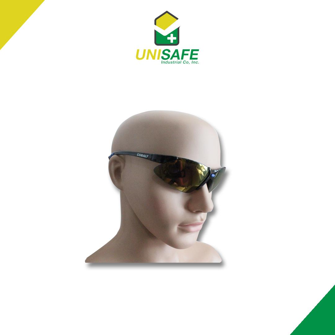 Spiderking Safety Cobalt Spectacles By Unisafe Industrial Co..