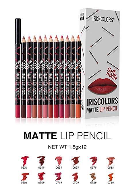 Iris Colors Matte Lip PencilIris Philippines