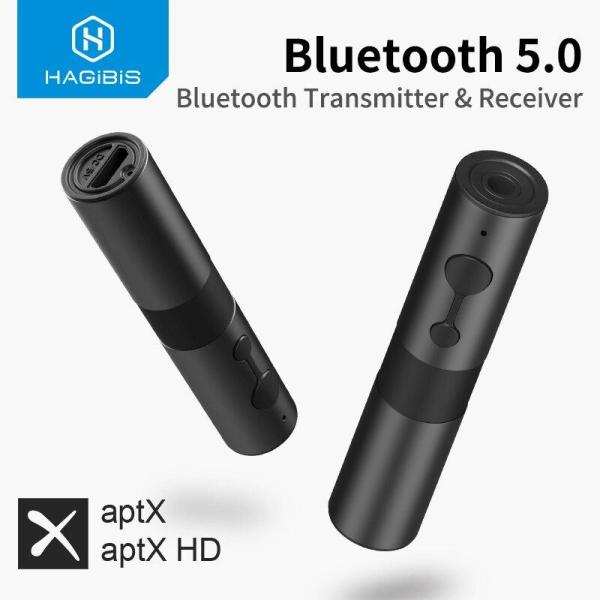 Bluetooth 5.0 Transmitter Receiver Aptx Adapter 2 In 1 3.5Mm Jack Audio Wireless Adapter Aux For Tv Headphones Pc Car
