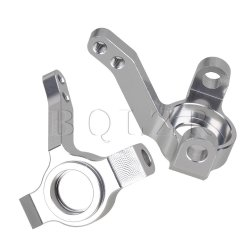 RC 1:10 AX30496 Aluminium Silver Steering Hub Carrier(L/R) for Buggy Set