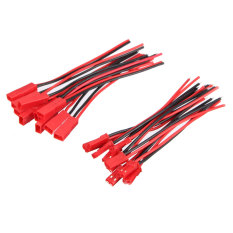 10 Pairs Micro 2 Pins Jst Connector Plug Cable Wire Line 110mm Female & Male - Intl By Freebang.