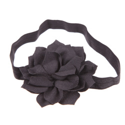 10pcs Baby Girls Lotus Flower Toddler Hair Band Headbands Child Headwear