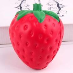 11.5cm Portable Jumbo Slow Rising Kawaii Strawberry Squishy Lovely Pendant - intl