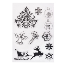 11x16cm Transparent Clear Stamp/Seal For DIY Scrapbooking/Decorative Clear Stamp Sheets Christmas Series YC69 by LuckyGirl Store - intl