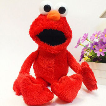 12inch Red Sesame Street Elmo Doll Puppet Plush Toy Christmas gift