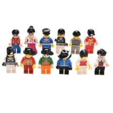 20pcs Lot Random Mini Figures People Models Professional Role Toy Source · 12Pcs lot Cute Random Minifigure Figure Men People CharacterMinifigs Kids Toys ...