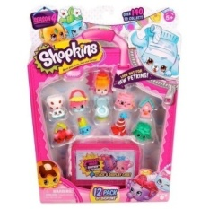 12Pcs/Set Shopkins Season 4 Shopkins Toy Models Christmas Gifts ForKids - intl