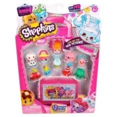 12Pcs/Set Shopkins Season 4 Toy Furniture Models Christmas GiftsFor Kids - intl