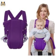 Baby Carrier Sling Wrap Rider Infant Comfort Backpack(Violet)