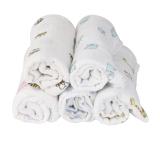1Pcs Muslin Cotton Blanket Newborn Baby Blanket Swaddle Bath Towel Giraffe - thumbnail 2