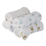 1Pcs Muslin Cotton Blanket Newborn Baby Blanket Swaddle Bath Towel Giraffe - thumbnail 4
