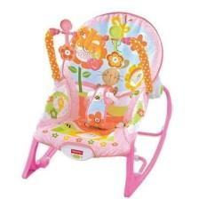 2 In 1 Original Fisher Price Rocker Infant To Toddler Uni Pink