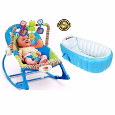2 In 1 Original Fisher Price Rocker Infant To Toddler Unisex(Blue)with  Intime ...