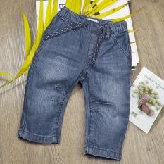 eab714b0dbba 2017 Infant Baby Boys Girls Spring Jeans Denim Pants Newborn Soft Elastic  Waist Pants Cool Jeans Solid