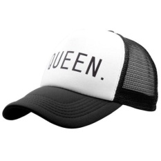 2017 Mens Womens Boys KING QUEEN Baseball Cap Adjustable Snapback Trucker  Hat YG - intl a13f3c5161