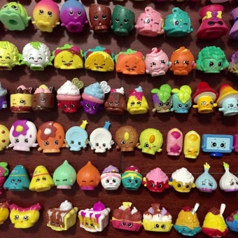20Pcs/Set Real Special Limited Shopkins Season 1 2 Ultra Rare Shopkins Toy Food Furniture Models Christmas Gift Kids Toy