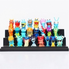 24pcs/set 1.8-2inch Mini Slugterra PVC Action Figures Toys - intl