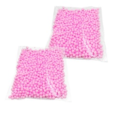 2packs Mini Foam Decorative Balls Arts Crafts Decoration Accessories For Gift Box Filler Diy Doll Toys Wish Bottle Pillow Filler 0.16-0.31inches Diameter 25g Pink - Intl By Duha.