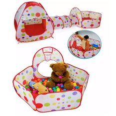 3 In 1 Children Baby Kids Play Tent Tunnel Play House Indoor Outdoor Toys  sc 1 st  Lazada Philippines & Kids Tents for sale - Mini Tents online brands prices u0026 reviews in ...