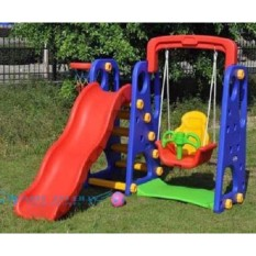 3 In 1 Playground Swing, Slide And Basketball Hoops By Mksh Gen Merch.