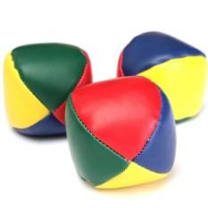 3 Pcs Juggling Balls Set Classic Bean Bag Juggle Magic Circus Beginner Kids Toy Gift - Intl By Rhs Online.