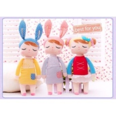 3 Pcs/ Kawaii Plush Stuffed Animal Cartoon Kids Toys for GirlsChildren Baby Birthday Christmas Gift