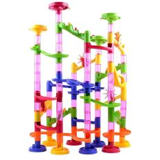 360dsc 105pcs Diy Building Blocks Maze Track Marble Ball Construction System Toy For Kids Chilrden By 360dsc.