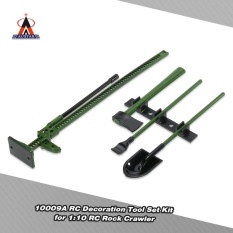 4pcs Austar 10009a Rc Decoration Tools Set Kit Rc Accessories For 1:10 Rc Rock Crawler - Intl By Outdoorfree.