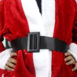 5pcs Adult Men Christmas Santa Claus Costume Suit Outfit One Size - thumbnail 1