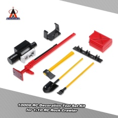 6pcs Austar 10008 Rc Decoration Tool Set Kit Rc Accessories For 1:10 Rc Rock Crawler - Intl By Outdoorfree.