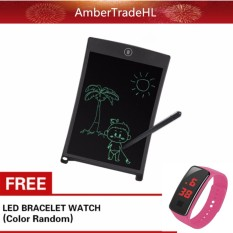 8.5 Inch Lcd Writing Tablet Portable Drawing Board With Free Led Watch By Ambertradehl.