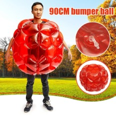 90 Cm Buddy Bumper Ball Inflatable Body Bubble Soccer Kids Outdoor Toy 1pcs - Intl By Threegold.