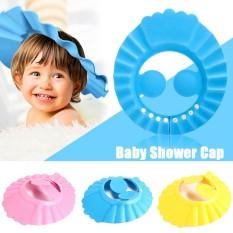 Adjustable Baby Toddler Bath Shower Hat By Christine Gutierrez-Eliseo.