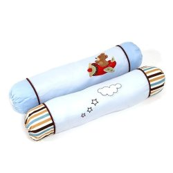 Akeeva AK-355 Bolster Set of 2 (Blue)
